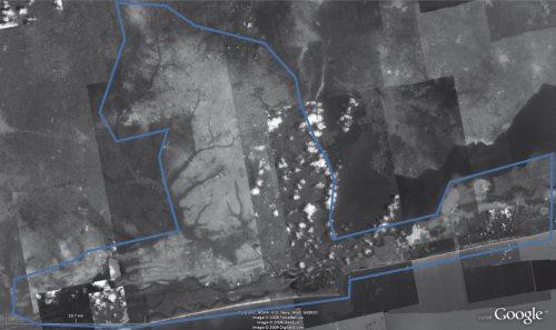 Satellitenbildausschnitt