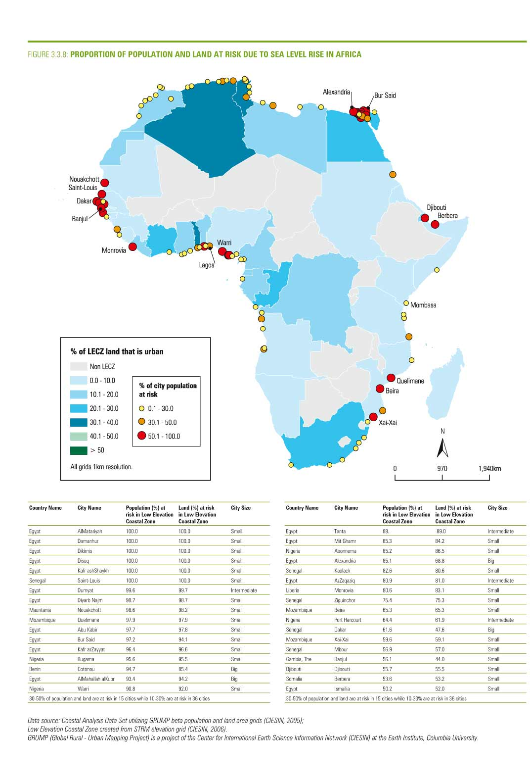 Sea level rise – African cities at risk | Lagos Urban Research